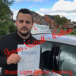 Driving Lessons Bolton Jason Nuttall Driving Test Pass.