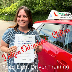 Driving Lessons Bolton Delyce Odendal Driving Test Pass