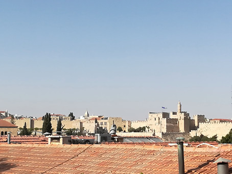 So what does Friday afternoon look like in Israel?  Depends on where you are!