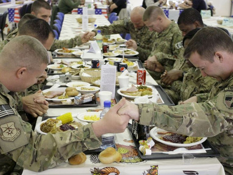 Happy Thanksgiving ... especially for those that are celebrating away from home!