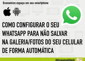 Atualização do WhatsApp 2020 - Como ativar/desativar fotos salvas no WhatsApp