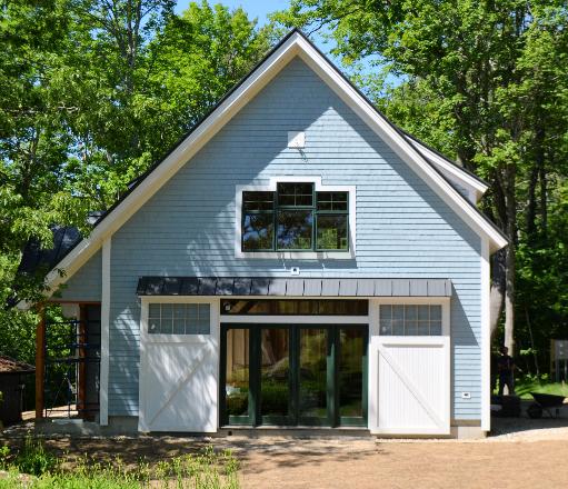 Freeport timber frame barn