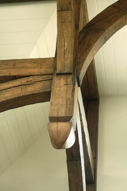 antiqued oak components