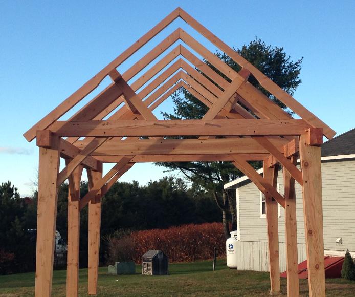 Timber Frame 14x20