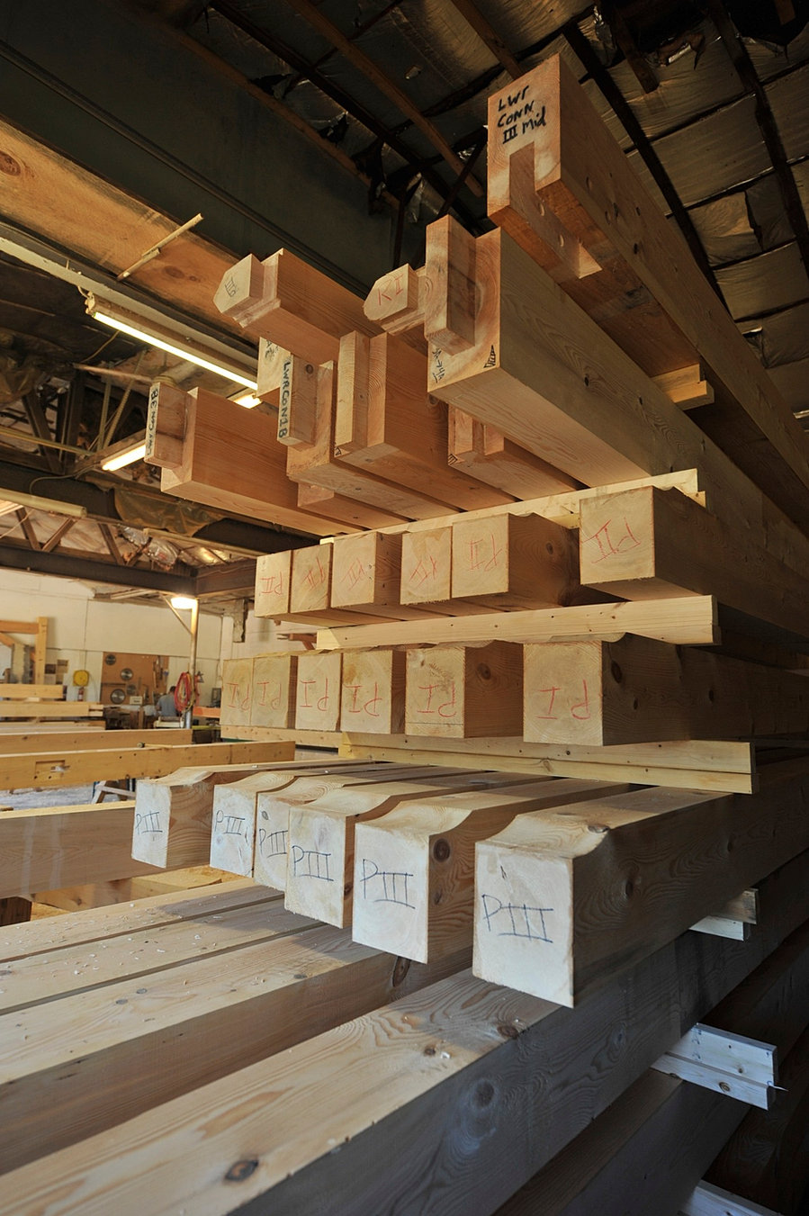 Maine timber frames for Maine post and beam kits