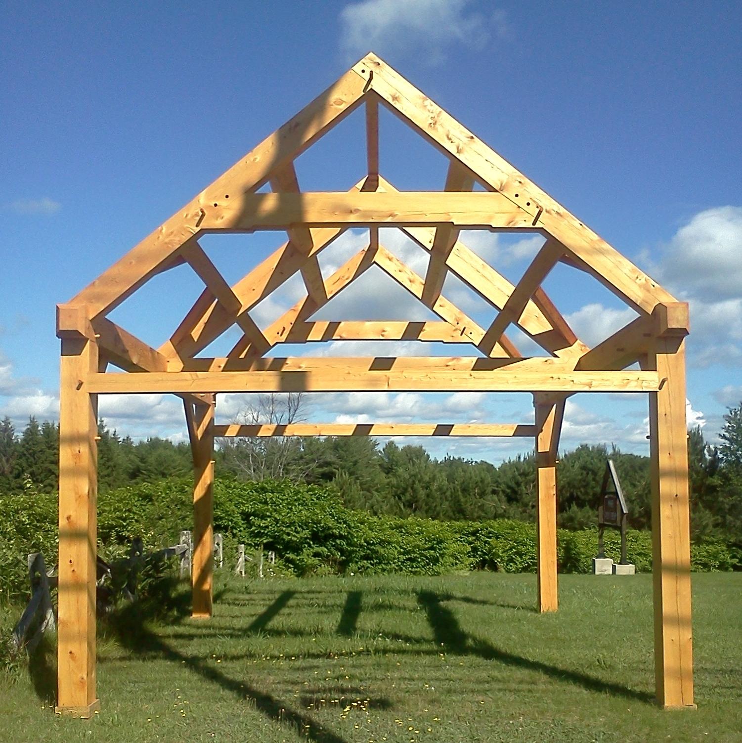 14x20 Timber Frame