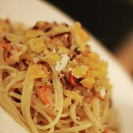 Pasta with Crabmeat & Pancetta