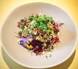 Vegan Salad At Matches Fashion Pop-Up