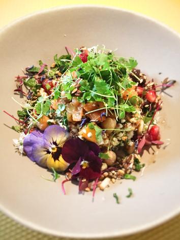 Mixed seed & grain salad
