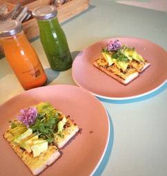 Avocado Tartine At Matches Fashion Pop-Up