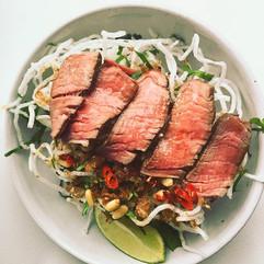 Beef Salad Thai Stle
