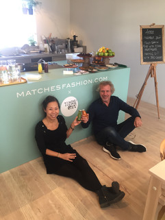 At Matches Fashion Pop-Up