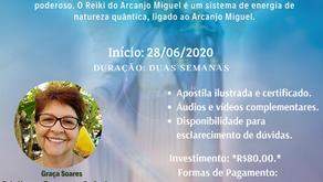 Curso de Reiki do Arcanjo Miguel