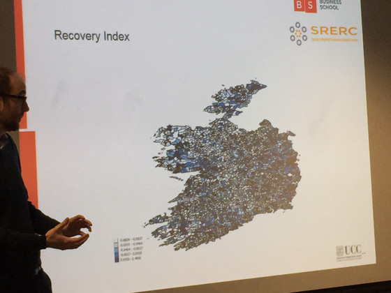 Regional Resilience in Ireland after the recession