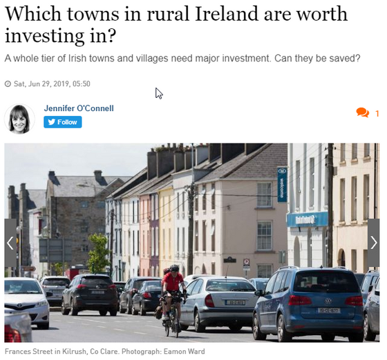 5 challenges for rural Ireland