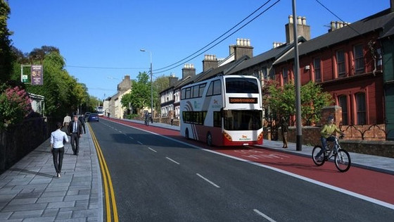 Light rail system, new bus lanes part of Cork city transport strategy