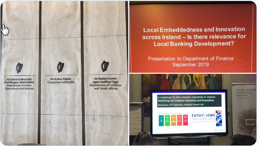 Local Embeddedness and innovation across Ireland - Is there relevance for Local Banking Development
