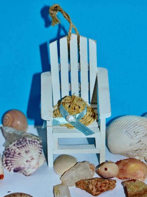 Beach Chair Ornament