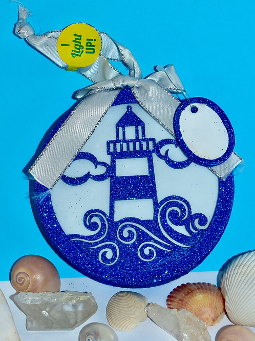 Light-up Lighthouse Ornament