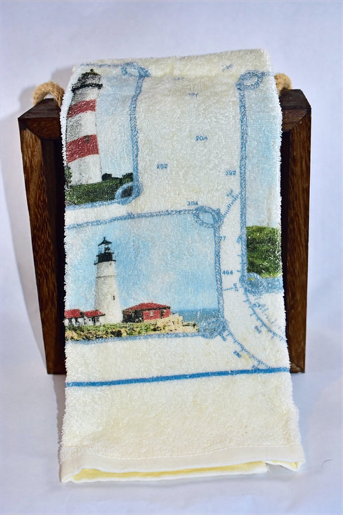 Lighthouses Hand Towel