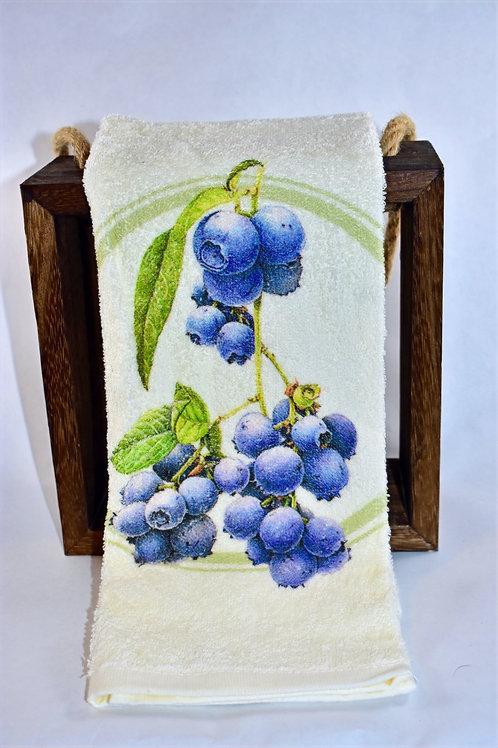 Blueberry Hand Towel