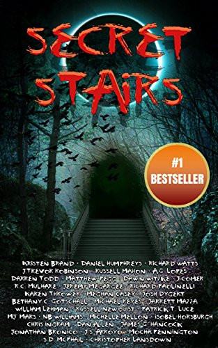 Cover image for Silver Empire Press anthology Secret Stairs