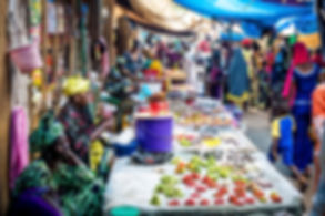 Merchants-produce-market-Gambia-Farafenn
