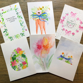 DIY Easter Cards: Watercolor for Beginners