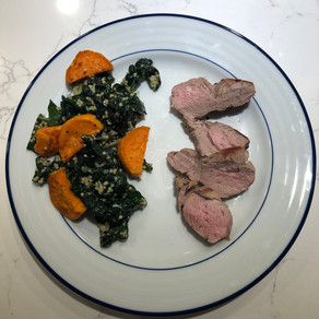 Mondays with Martha - Pork Tenderloin with Kale Salad