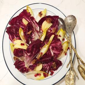 Mondays with Martha: Dressed Chicories with Apple and Gouda