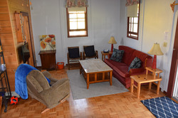 Sitting area in Cottage 2