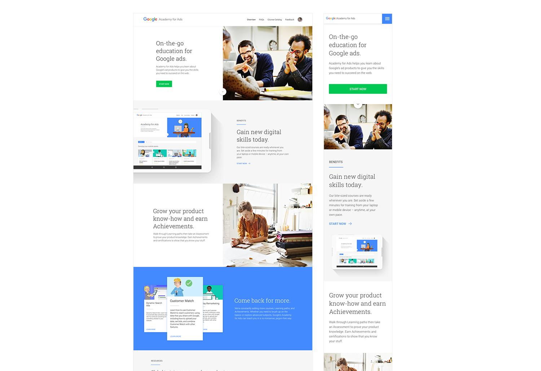 Google Ad Academy | portfolio