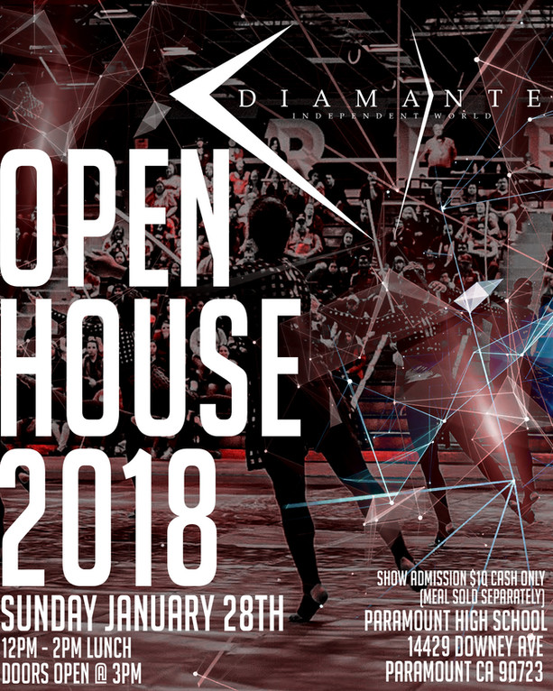 DIAMANTE OPEN HOUSE 2018