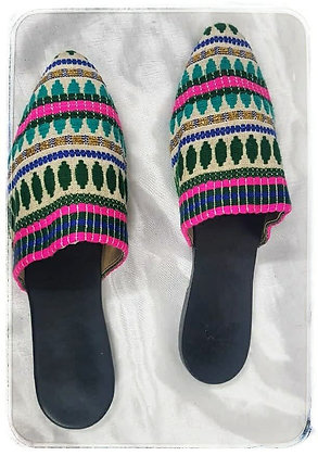 SLIP ON WITH HAND LOOM STRAP