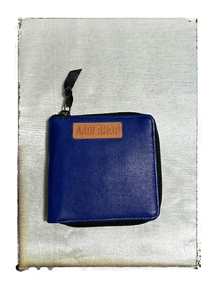PLAIN BLUE COLOR LADIES WALLET