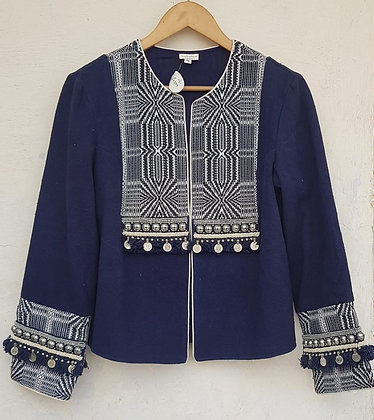 FALAK COTTON DAOBBY JACKET (MADE TO ORDER)
