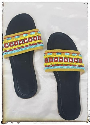 HAND EMBROIDERED SLIP ON