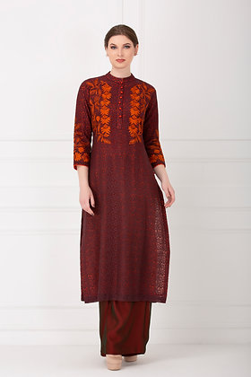 PRISHA KURTA AND PANTS SET OF 2 (MADE TO ORDER)