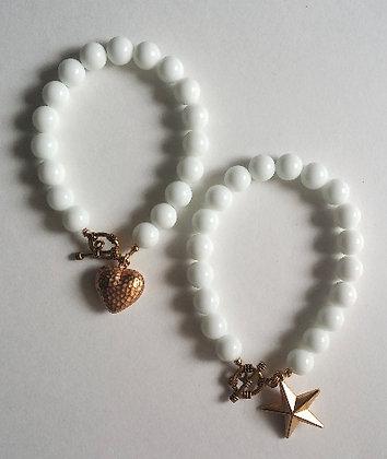 Hearts & Stars Charm Bracelet