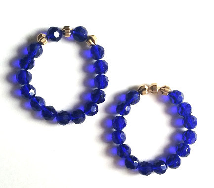 Cobalt Bracelet Set