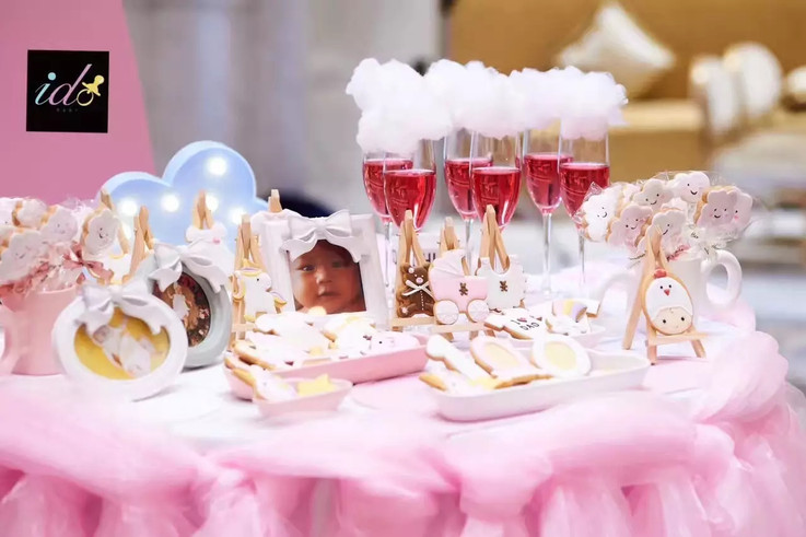 baby 100 day party ido events los angeles