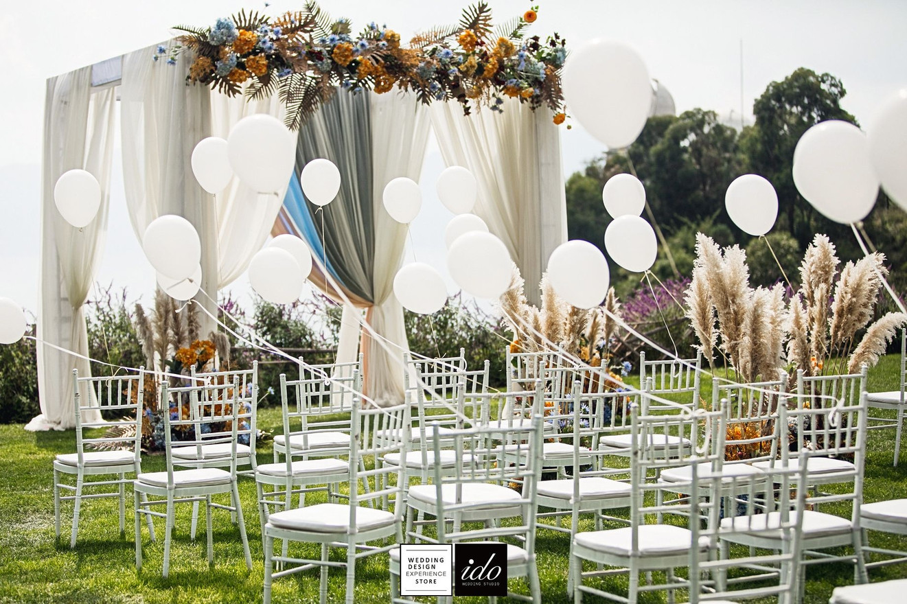 White Balloons   IDO EVENTS   Los Angeles   United States   Chinese Wedding & Event Planner