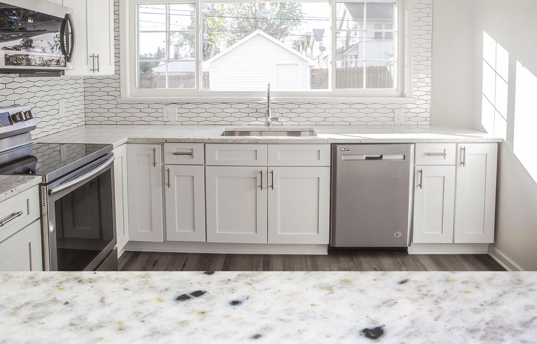 3cm white pearl granite