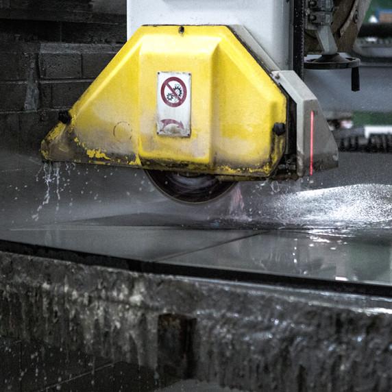 CNC Machine cutting
