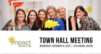 Town Hall Meeting, November 6: Social Innovation Grant Vote & The Changing Face of Philanthropy