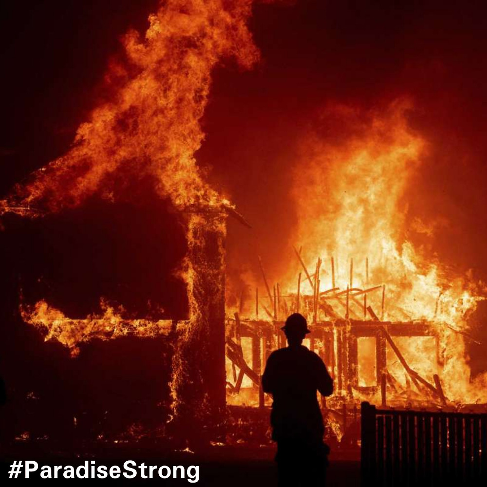 Paradise California Campfire Relief