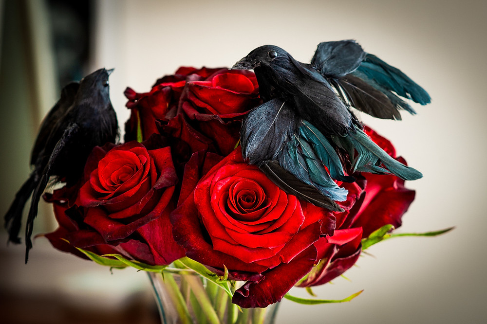 Raven & Rose boquet
