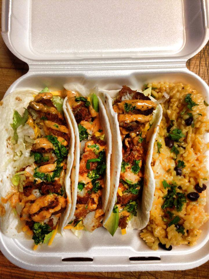 Tacos and Rice