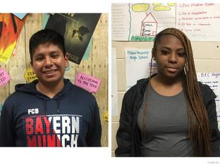 The Scoop: sophomore Santiago Alba-Lopez & junior Liliana Dixon
