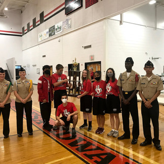 NJROTC program hosts triathlon, drone competition